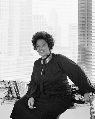 Toni Morrison by Mayotte Magnus