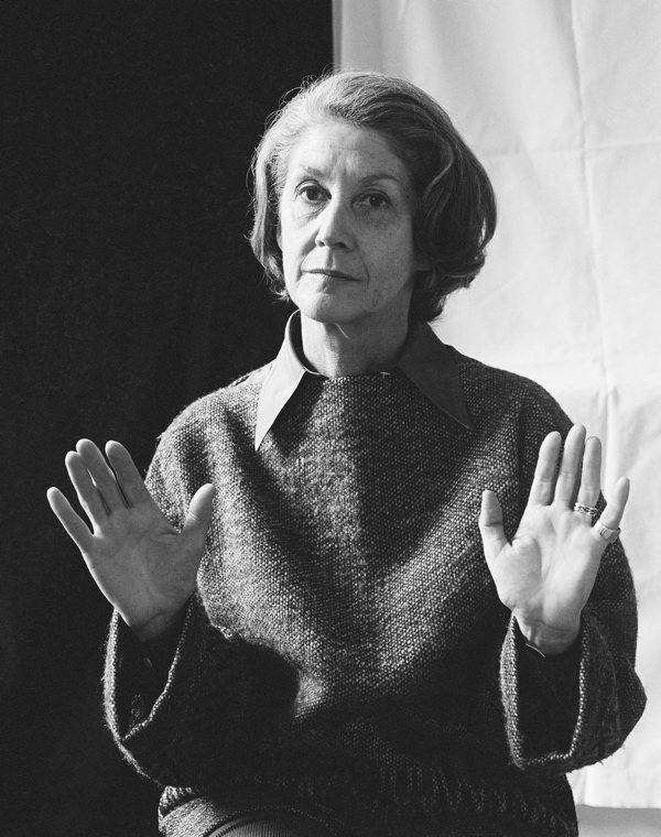Nadine Gordimer by Mayotte Magnus